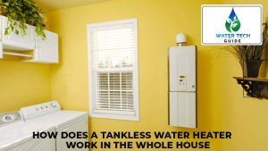 How does tankless water heater work in the whole house