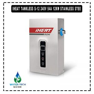 iHeat Tankless S-12 240V 54A 12KW Stainless Stee