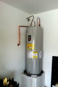 How long for water heater to heat up in Electric heater