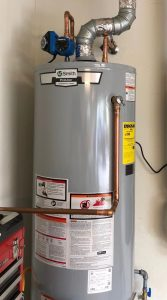 How long for water heater to heat up in Gas heater